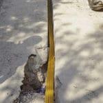 Micro-Trenching zur Glasfaserverlegung mit Grabenfräsen von LIBA