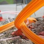Micro-Trenching für Glasfaser